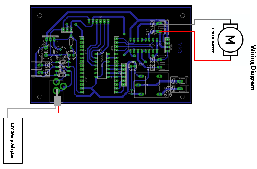 iot based dc motor speed and direction controller wiring diagram