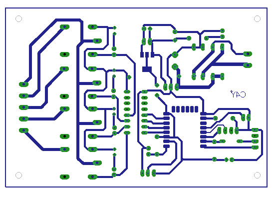 iot based temperature controller pcb layout