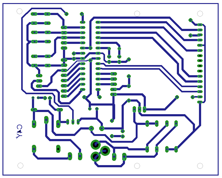 temperature controller pcb layout