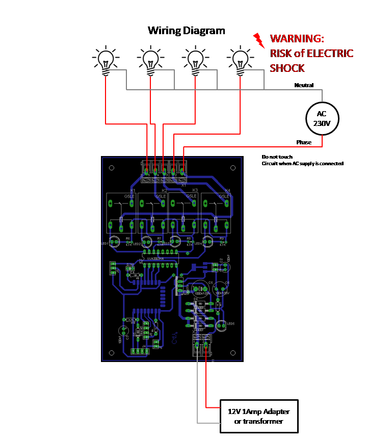 iot home automation wiring diagram