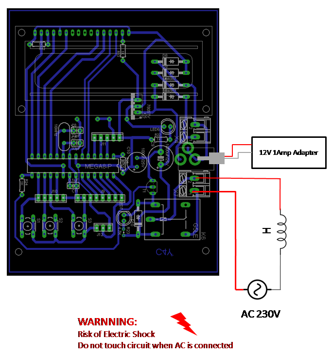 Microcontroller Based Temperature Controller on